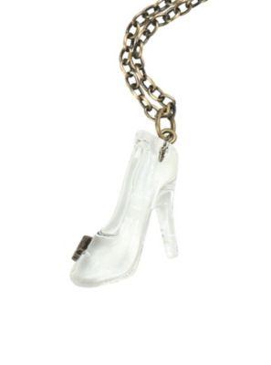Disney cinderella butterfly glass slipper necklace disney disney cinderella butterfly glass slipper necklace aloadofball Gallery