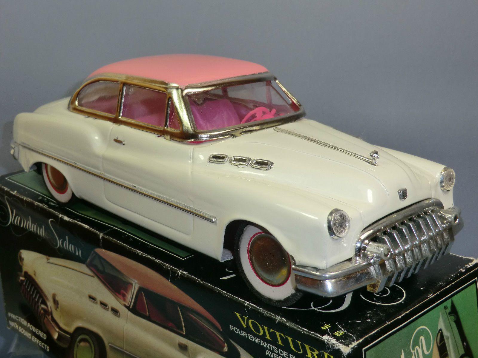 1950 toys images  TINPLATE  FRICTION VOITURE NoMF uS CADILAC  DOOR SEDAN MIB