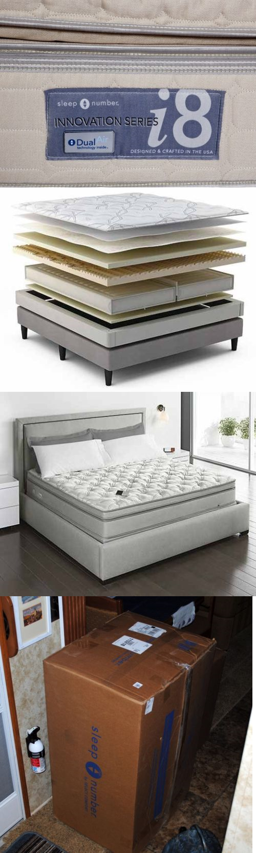 inflatable mattresses airbeds 131598 sleep number i8 king mattress