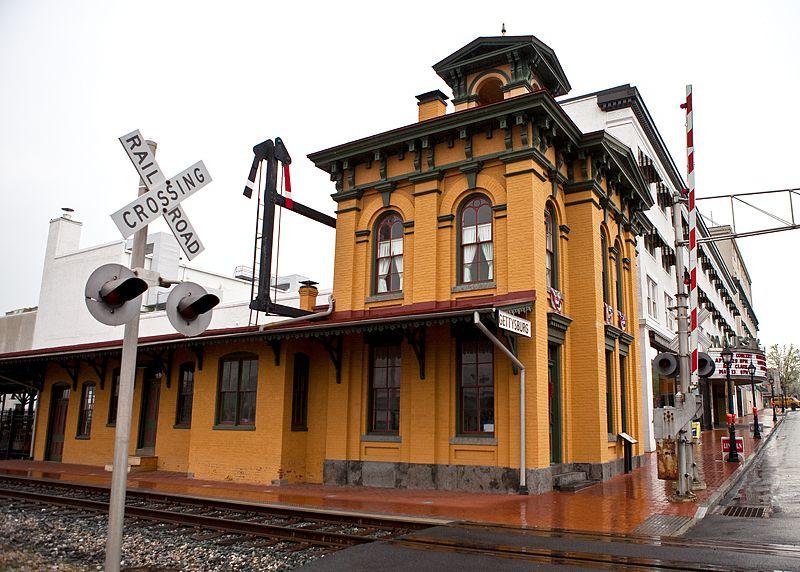 Gettysburg Railroad Station Train station, Train depot