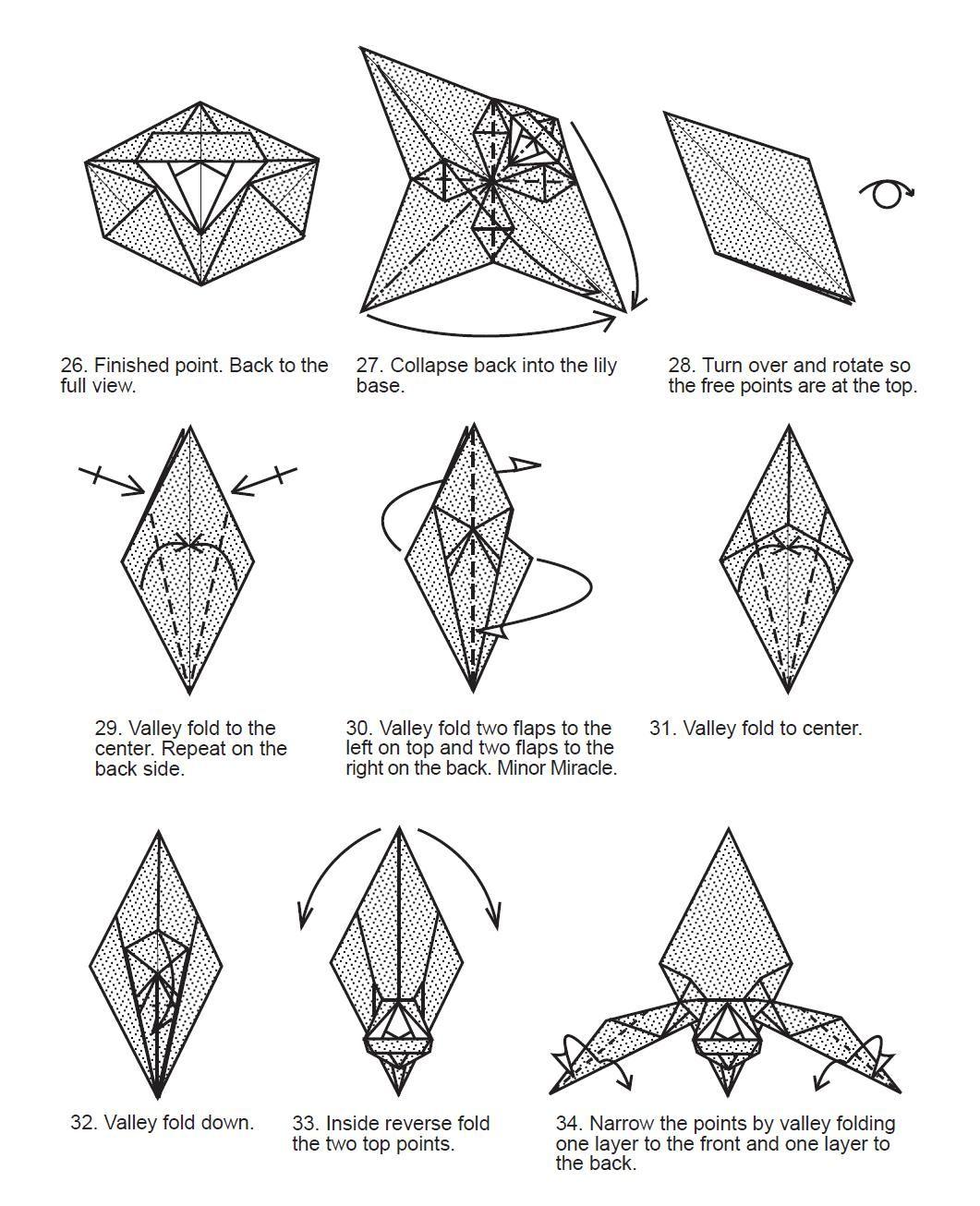 pin de bel u00e9n beck en origami flores