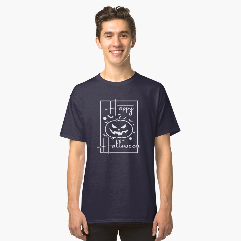 'Happy Halloween' Classic T-Shirt by features2018 #jheneaiko