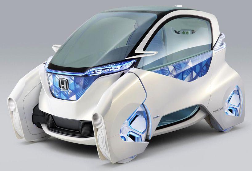 Tokyo Motor Show Honda Micro Commuter City Car Concept Cars