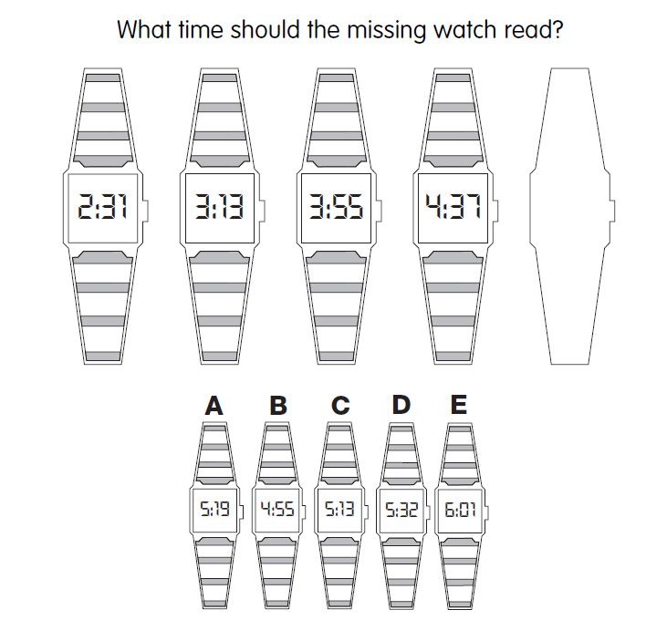 image relating to Printable Iq Tests identified as No cost Printable Iq Look at With Solutions Mystery - bolemwhichs site