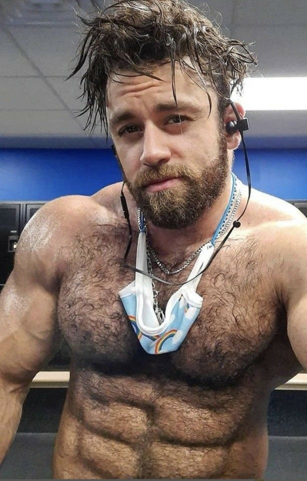 picture Hairy Muscle Guys pin on hairy muscle men