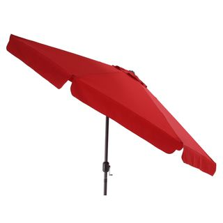 Pillow Perfect Red Patio Umbrella   Overstock™ Shopping   Big Discounts On  Pillow Perfect Patio Umbrellas