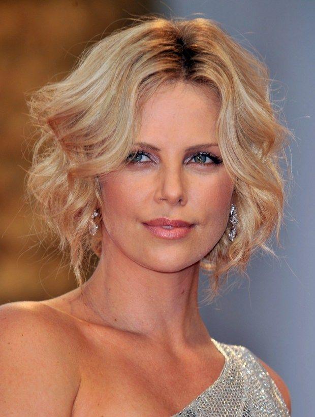 Wellen Kurze Haare Stylen Blonde Damen Trends Haare Short Hair
