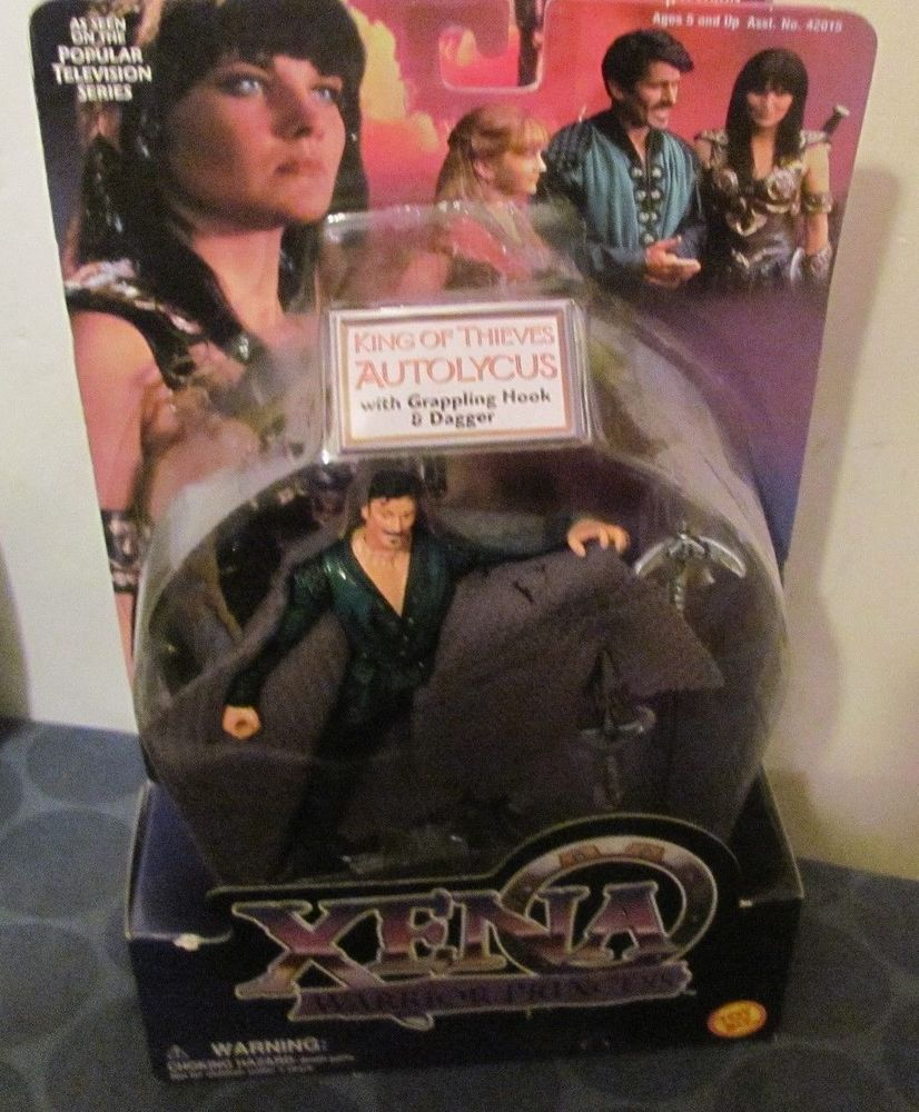 Xena Warrior Princess Autolycus King of Thieves Mint on Card Toybiz Hercules