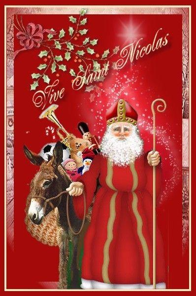 Carte A Imprimer St Nicolas Carte A Imprimer Cartes Et Carte