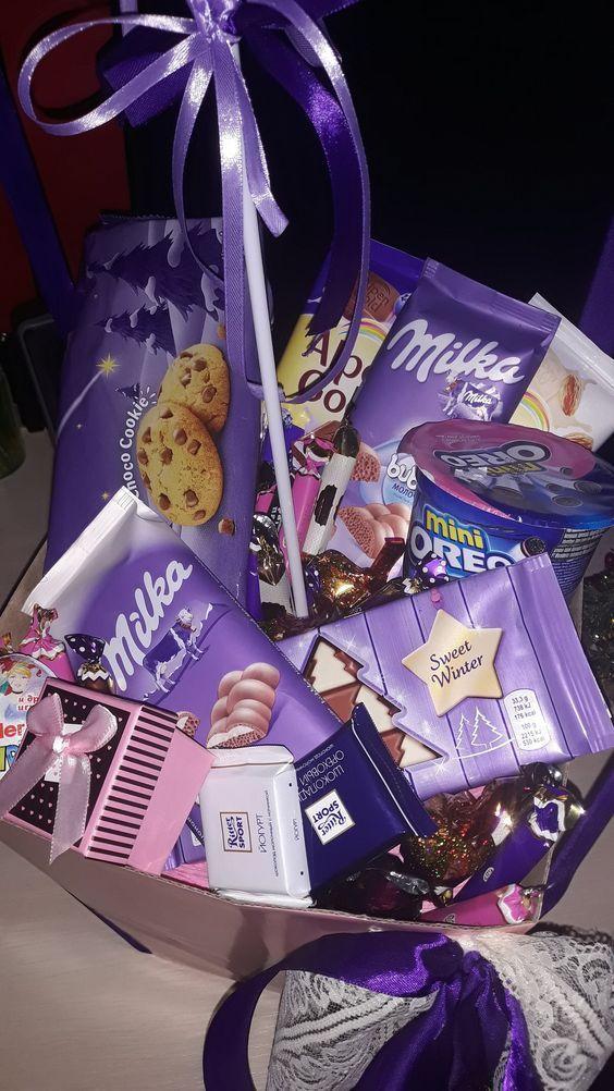 DIY Candy Geschenkboxen für Geburtstagsgeschenke für Jungen #birthdaybasket