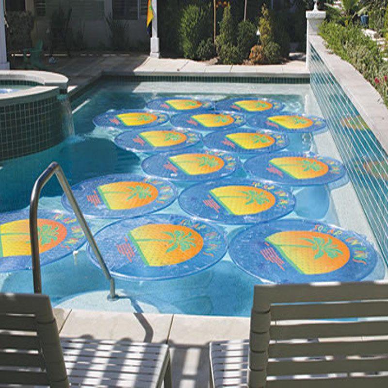 6 Pack Solar Sun Rings Swimming Pool Heater Cover Thermal ...