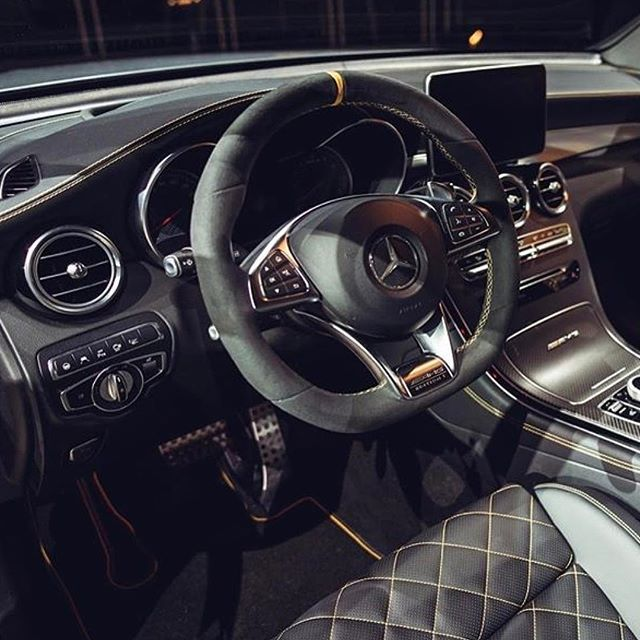 What are your thoughts on the interior of this Mercedes-Benz #AMG® C 63 Coupe Edition 1?! #Repost //  : @marcel_berens    http://www.waltsmb.com/