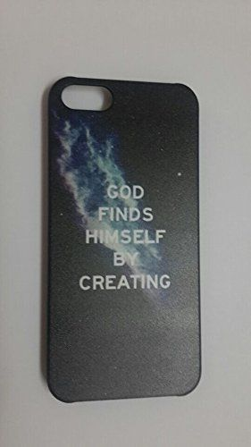 Hashex Various Painted Pattern Snap-on Hard PC Case Back Cover with Black Edges for iPhone 5 5s 5th (028-God finds himself by creating) HASHEX http://www.amazon.com/dp/B00N41KTUI/ref=cm_sw_r_pi_dp_Kn3.tb1HHVTTK