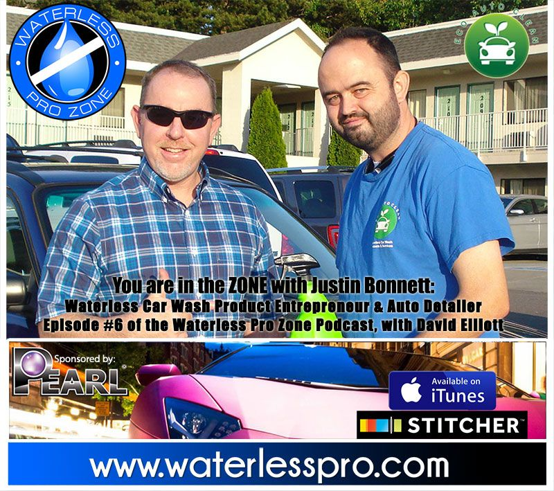 The Waterless Pro Zone with Justin of Eco Auto
