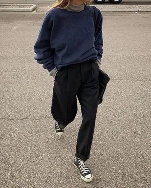 Tendance de l'automne: voici le pantalon à pinces