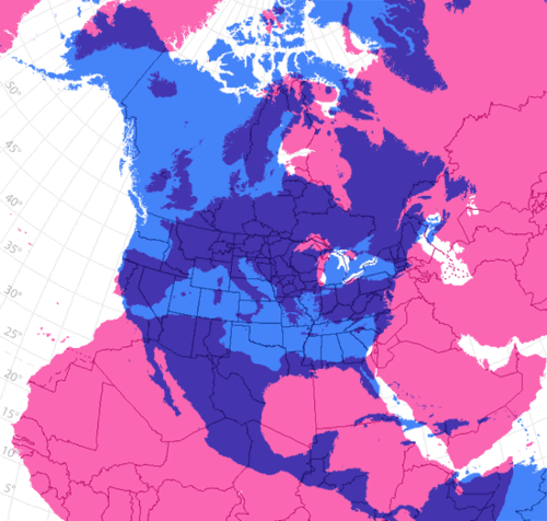 Size comparison: North America to Europe (Scale Comparisons ...