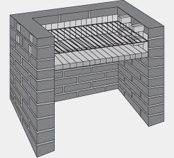 Como construir una parrilla de ladrillos construction - Como construir una barbacoa de ladrillo ...