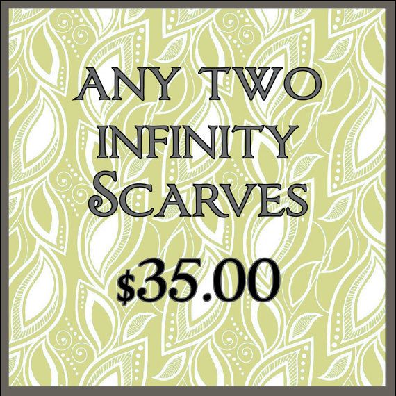 Infinity Scarf Sale Affordable Scarves Infinity by PrimalVogue, $35.00