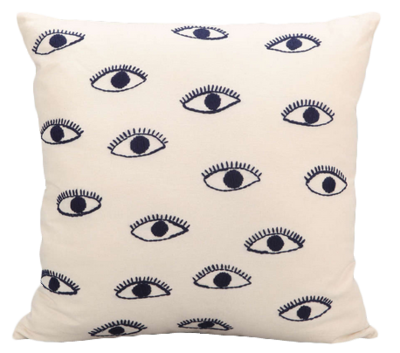 Embroidered Eye Pillow - Matchbook Magazine