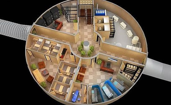 Apocalypse Bunker For The Rich Underground Shelter Doomsday