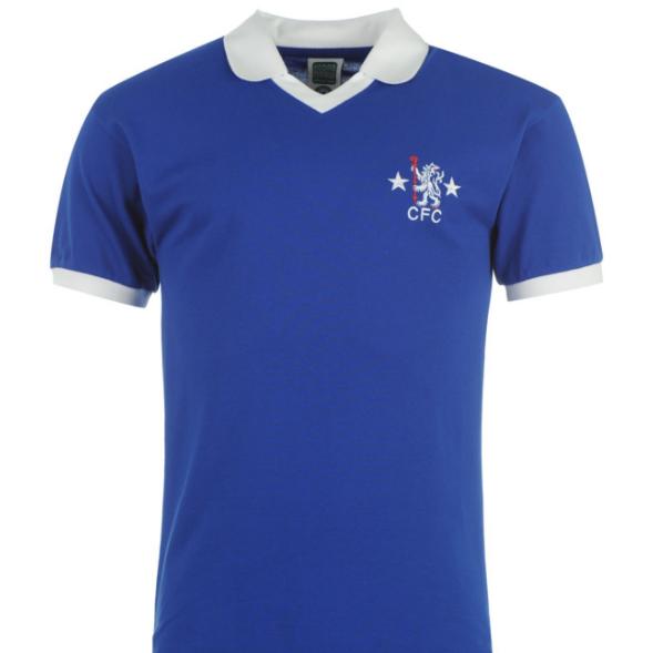 Score Draw Retro Chelsea 1976 Home Shirt Men's | Mens