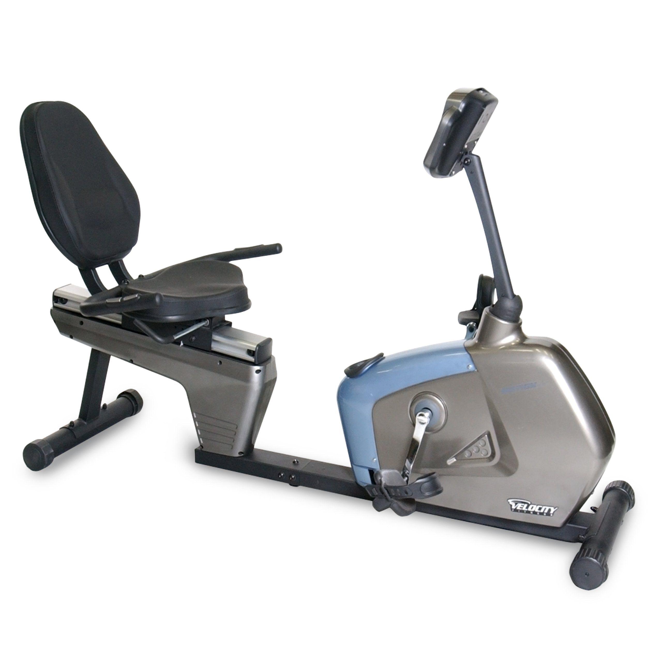 Velocity Exercise Recumbent Exercise Bike Click image
