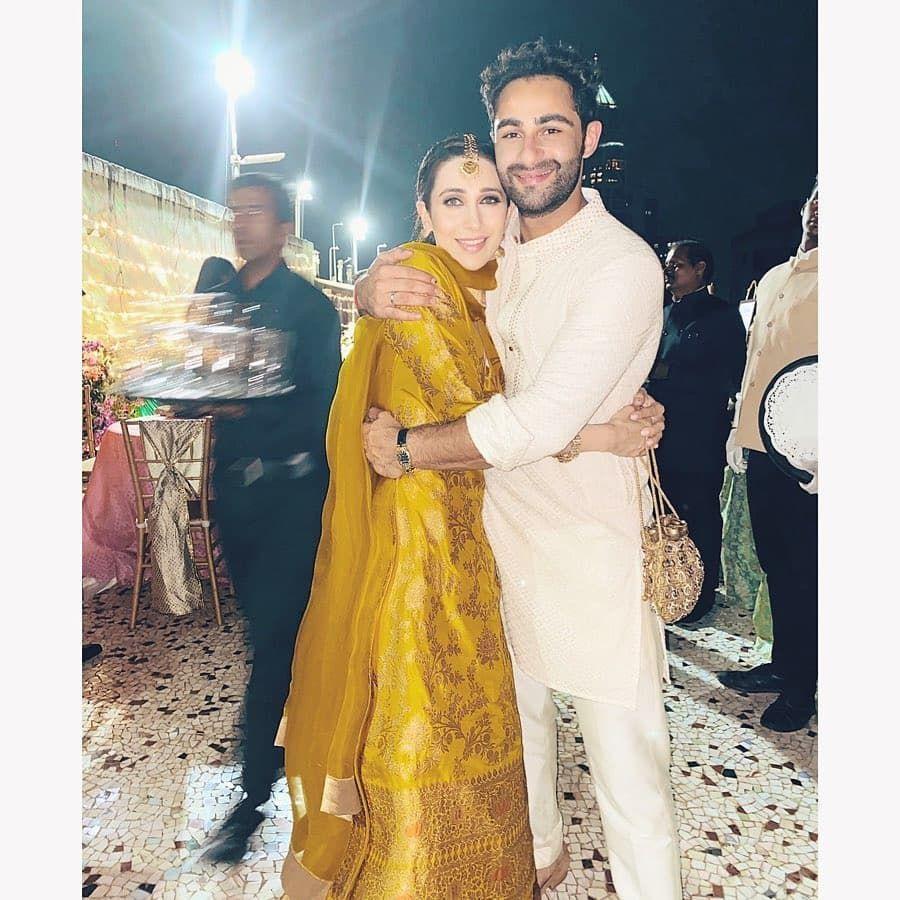 Karishma Kapoor Had A Blast At Her Cousin Armaan Jain's ...