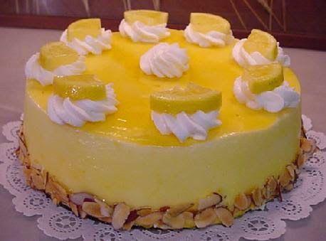 كيك الليمون الحلو الاسفنجية Cupcake Frosting Recipes Homemade Cakes Lemon Mousse Cake