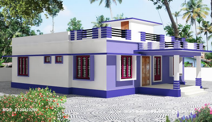 35 Small And Simple But Beautiful House With Roof Deck Kerala House Design House Arch Design Cool House Designs