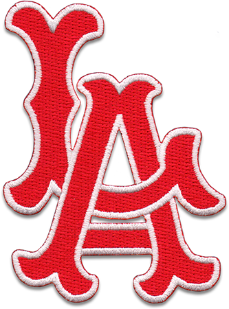 Los Angeles Angels Sports Logo Patch Patches Collect Collection Sports Emblem Emblems Insignia Baseball Patch Collecting Patch Logo Mlb Logos