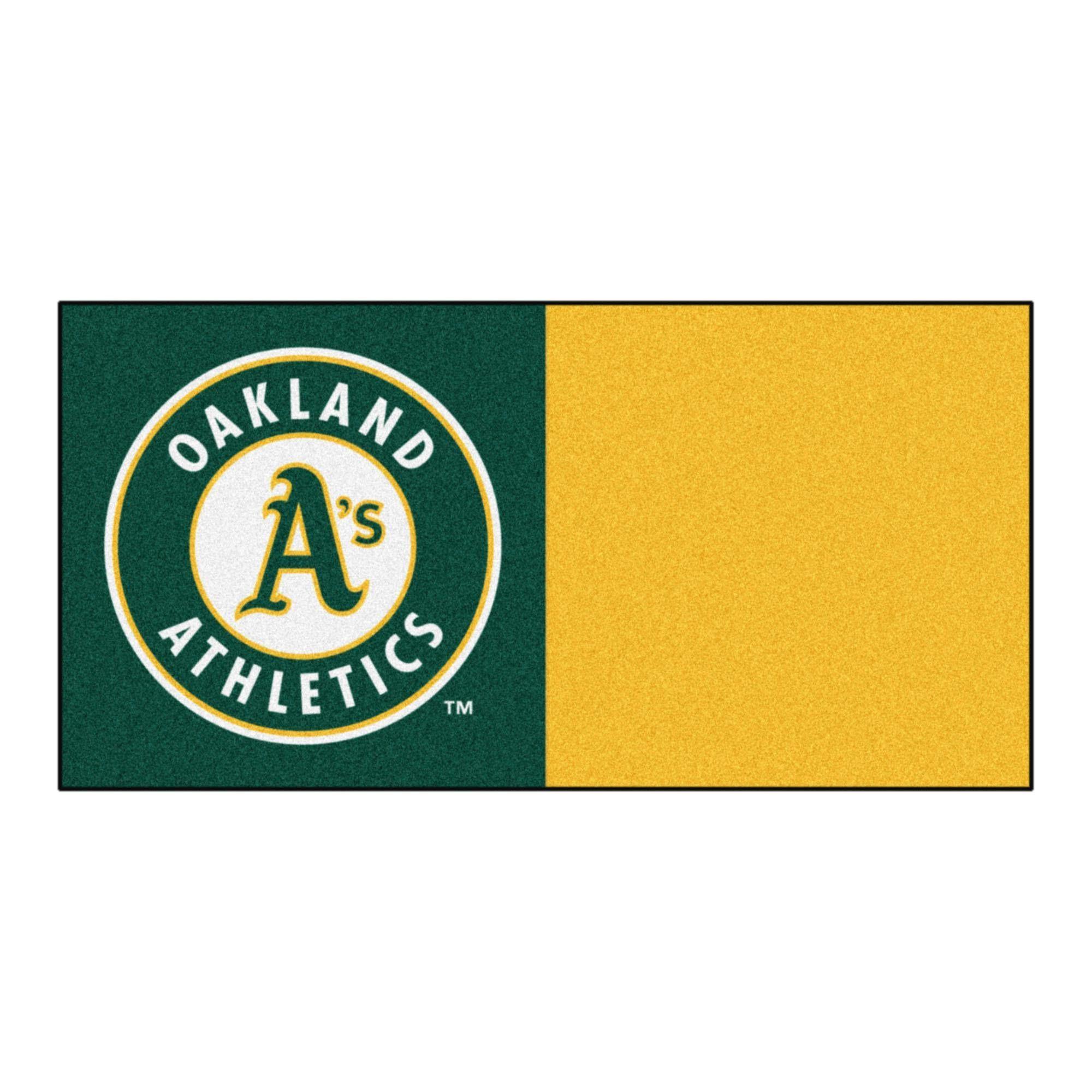 Oakland Athletics Carpet Tiles 18x18 tiles