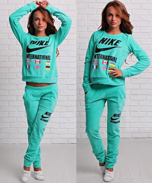 Nike Sweatsuit Kort Nike Sweatsuit Korten Stein Nike Sweat Suits Nike Outfits Nike Women