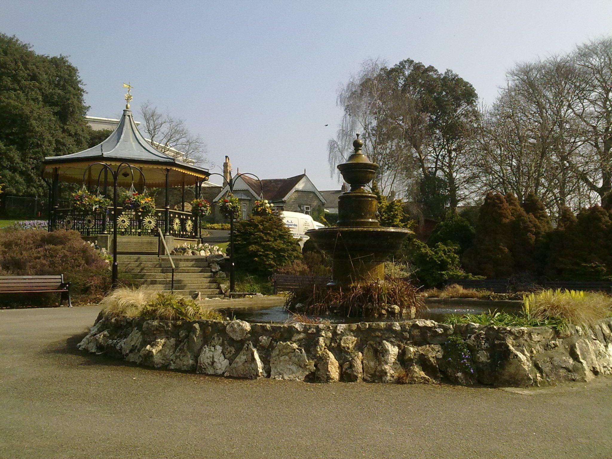 Victoria Gardens, Truro. I\'m a sucker for a bandstand. | Cornwall ...