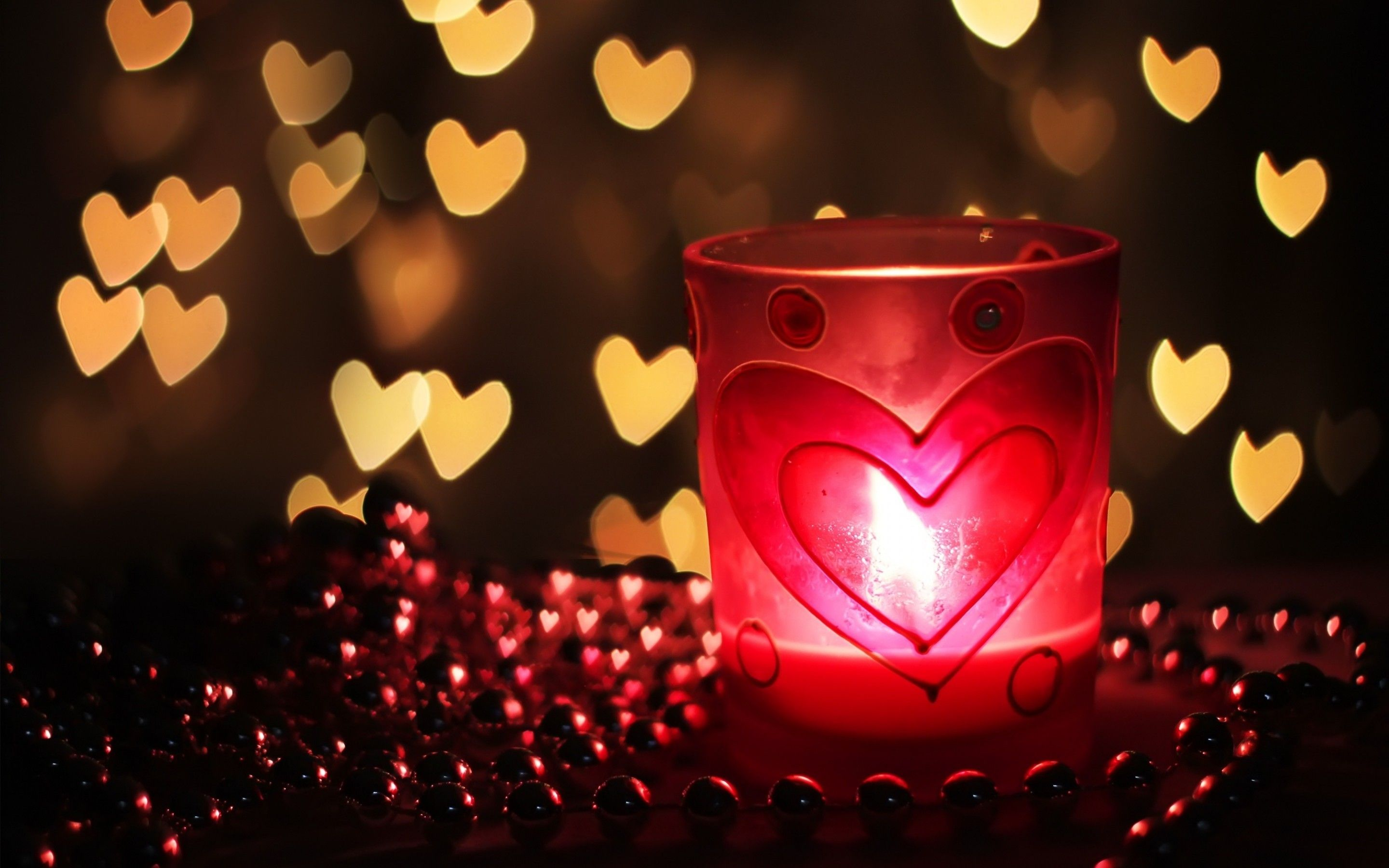 Beautiful Candle Light Decoration Photo Gallery | Rocks wallpaper ... for Heart Candle Wallpaper  45hul