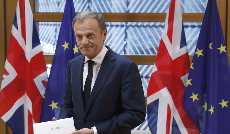 Brexit fallout EU's draft guidelines soften line on