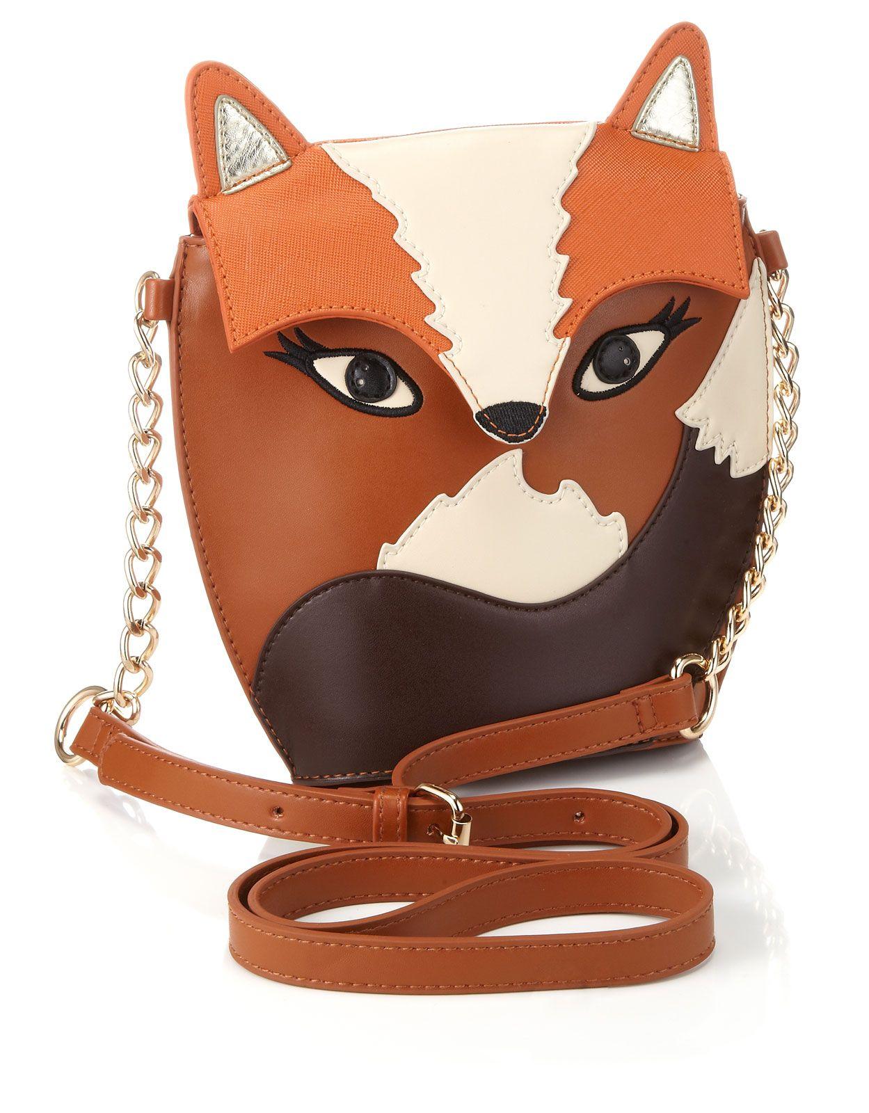 4d768564b28 Mr. Fox bag :) #accessorize | Accesories | Fox bag, Bags ...