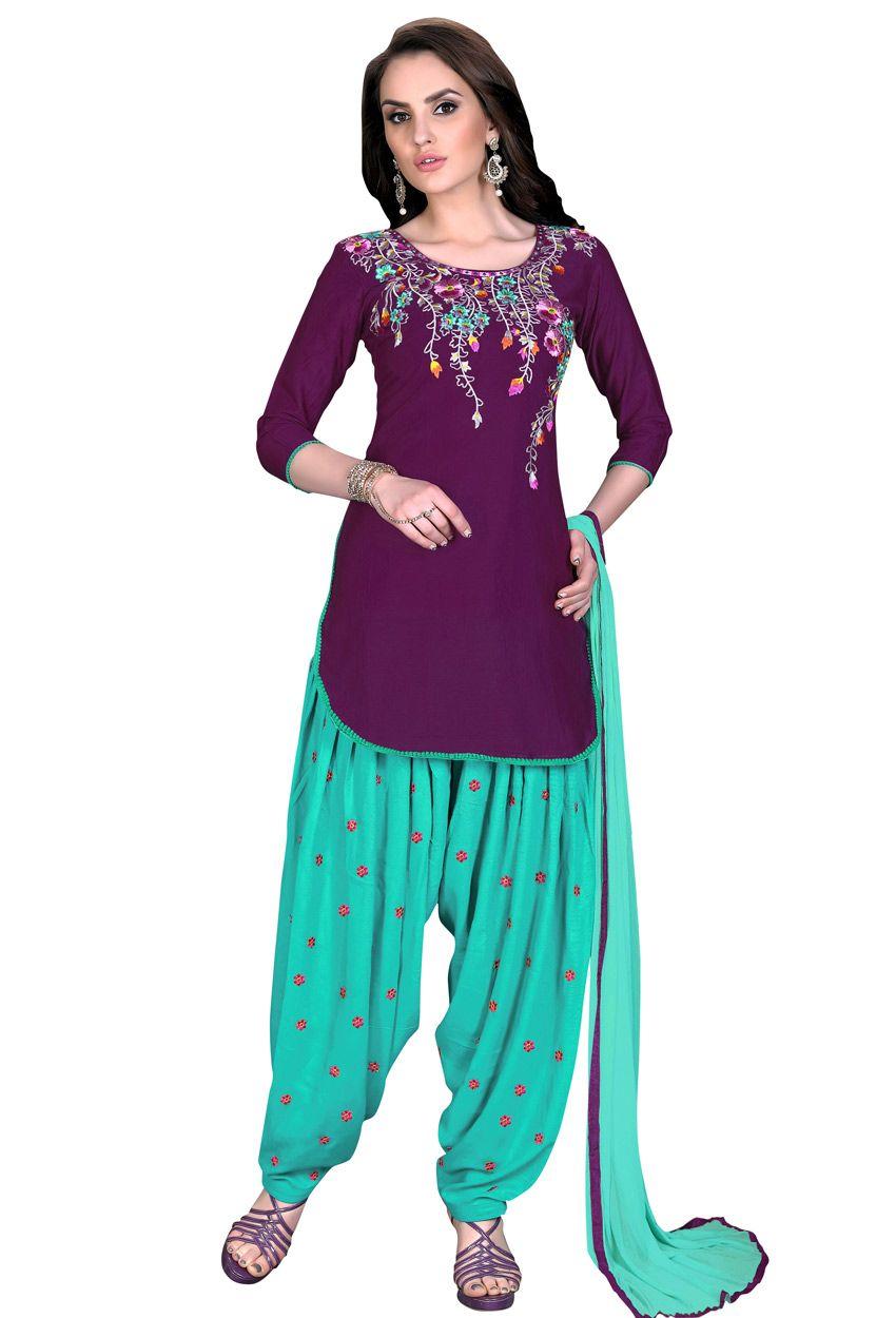 0f8ac378e7 #Purple #Cotton Cambric #Salwar Suit #Dress #Material #nikvik #usa #designer  #australia #canada #freeshipping #fashion #dress #sarees #sale