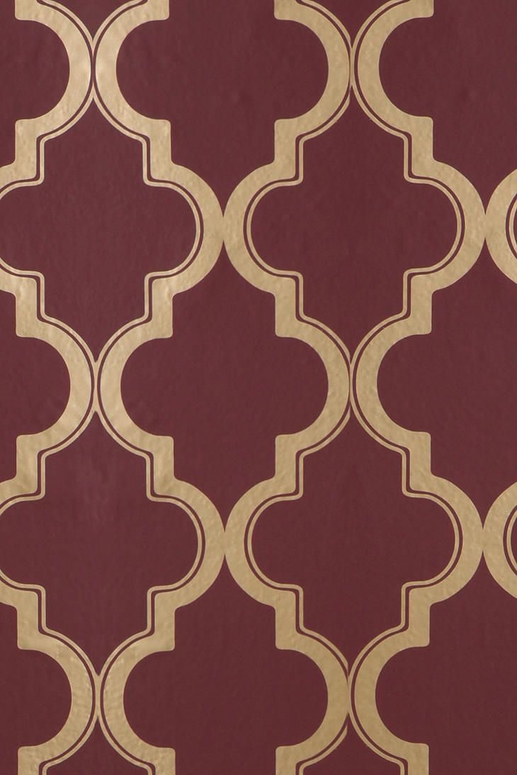 Non Permanent Wallpaper Might Have To Give This A Try On An Accent Wall Marrakesh