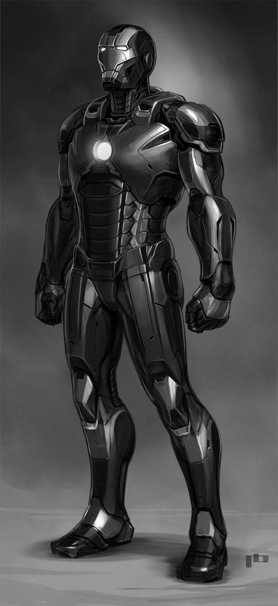 Ironman Black Pierre Bertin On Artstation At Https Www Artstation Com Artwork Llepj Iron Man Avengers Iron Man Armor Iron Man Art