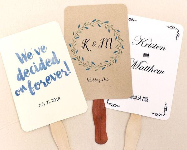 Wedding Program Fan Kit Wedding Program Fans Wedding Fans Diy Wedding Fans