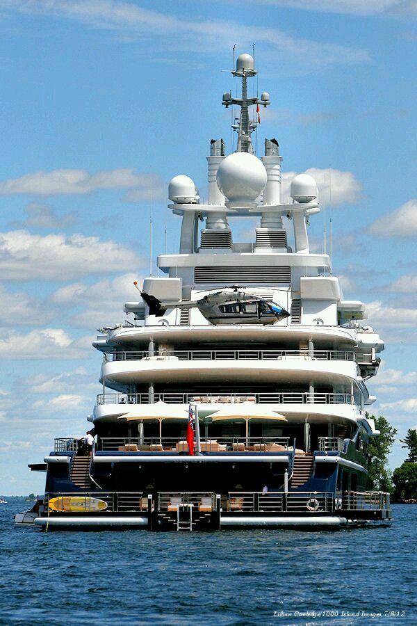 Bill Gates Yacht Luxury Throttled Boat Super Yachts Luxury Yachts