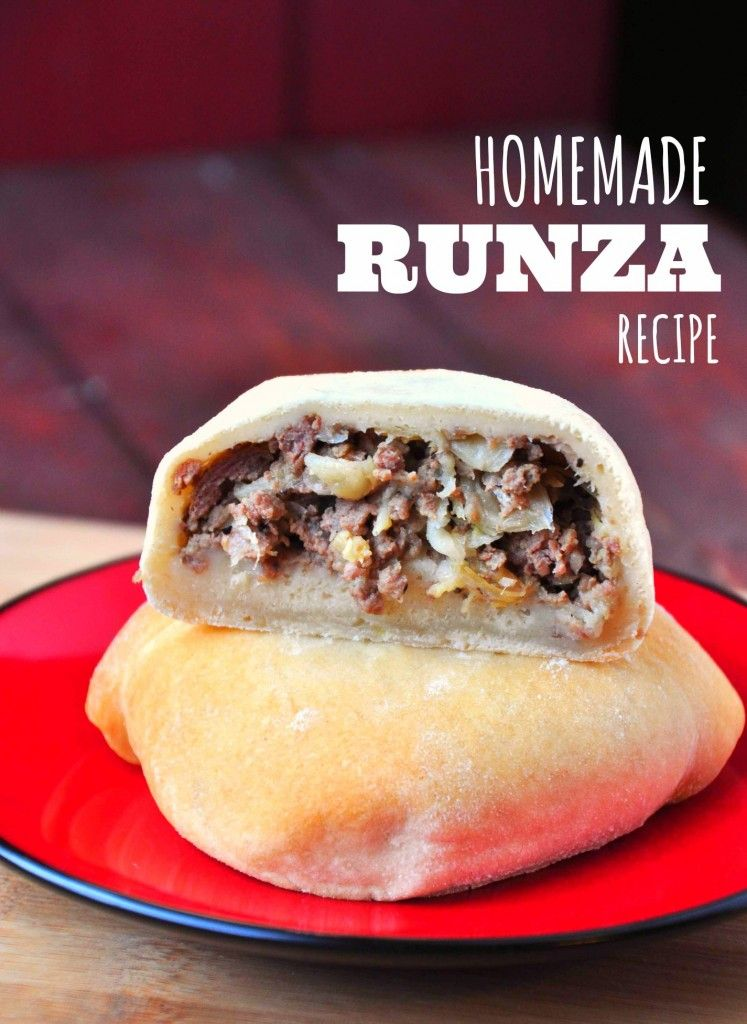 Homemade Runza Recipe #czechrecipes