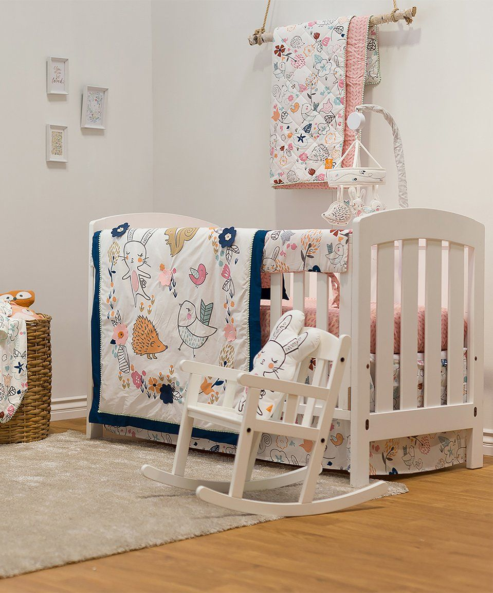 Take A Look At This Stella Four Piece Crib Bedding Set Today Baby Bedding Sets Crib Accessories Crib Bedding Sets