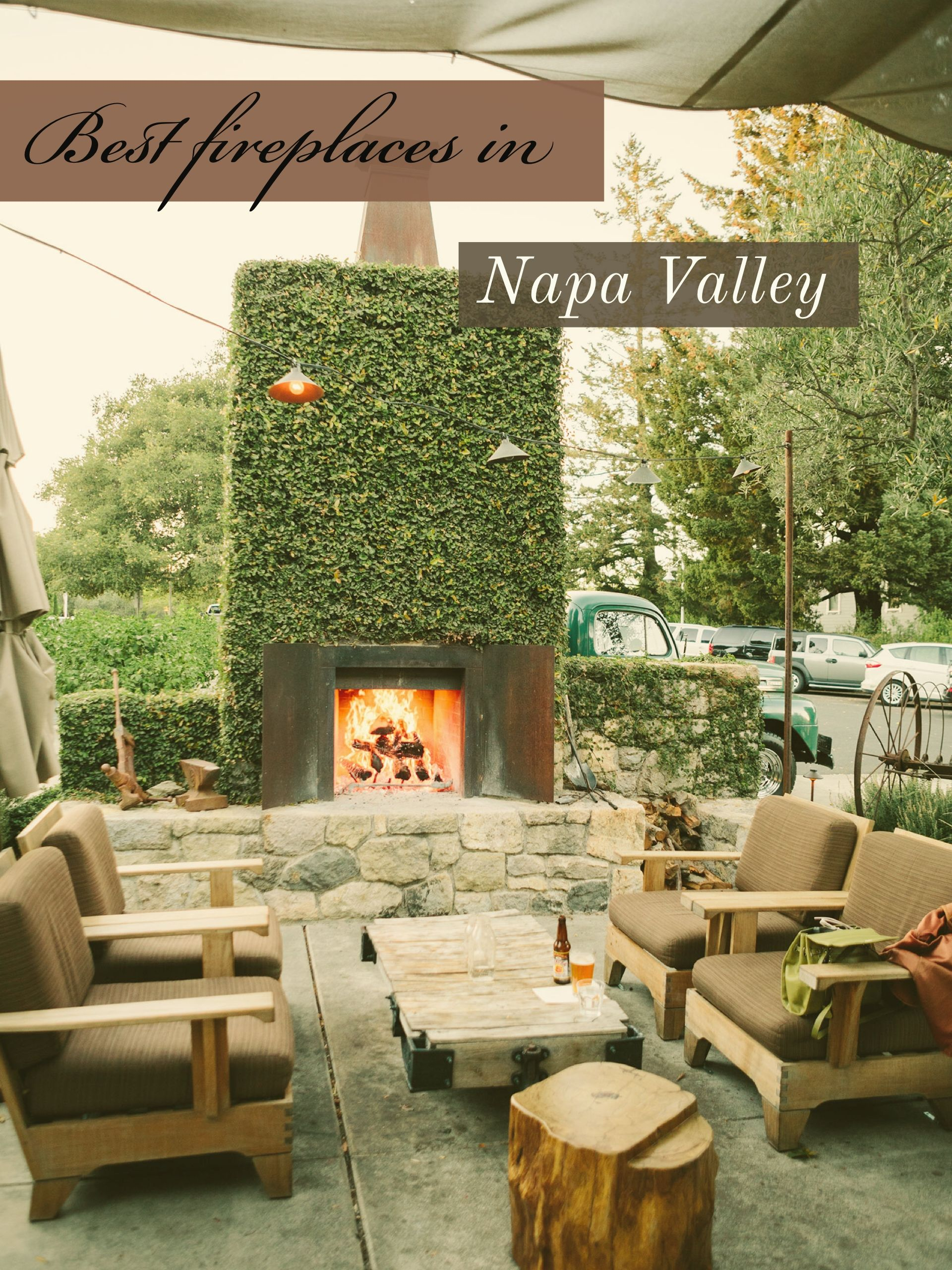 best places to curl up by the fire wanderlust sonoma valley and