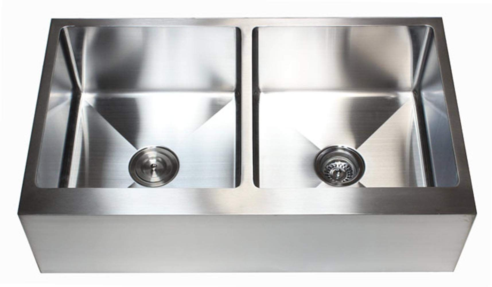 36 inch farmhouse apron front stainless steel kitchen sink