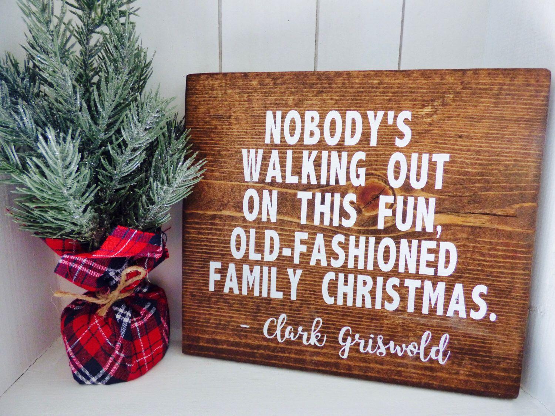 Christmas vacation wood sign, Christmas vacation home