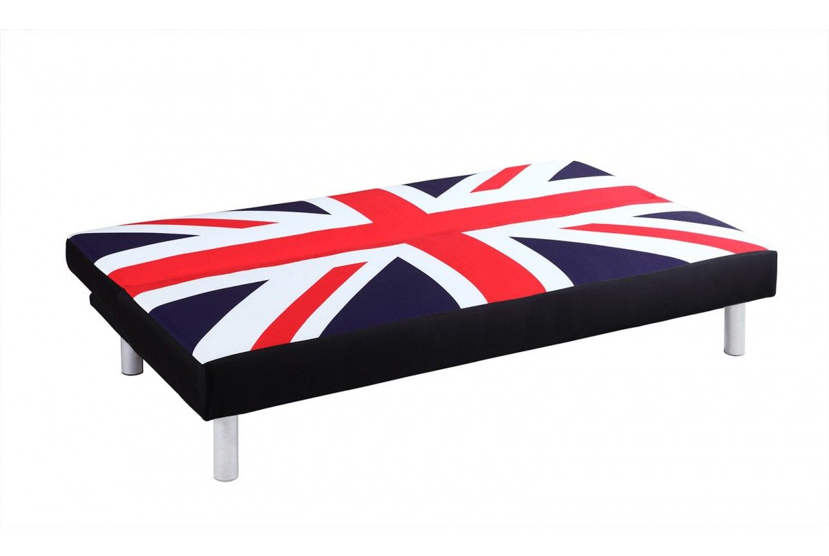 Union Jack Sofa Bed Great Britain Flag Upholstered