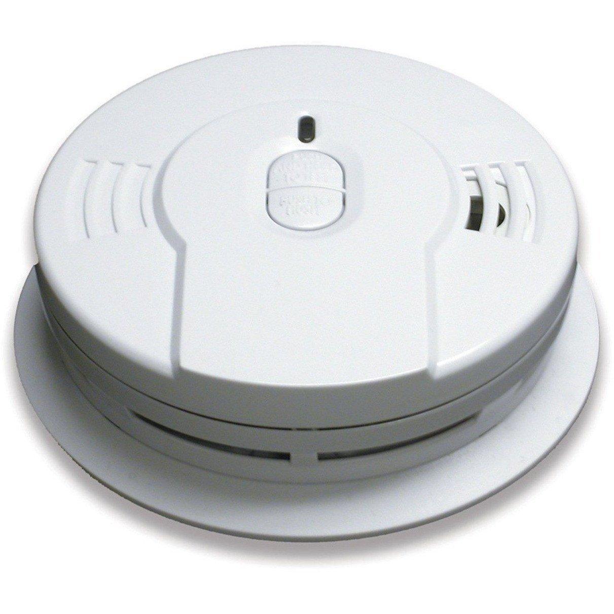 Kidde I9010 Smoke Detector 3v 10 Year Sealed Lithium Battery Powered W Memory Smart Hush Smoke Alarms Best Waterproof Camera Hush Hush