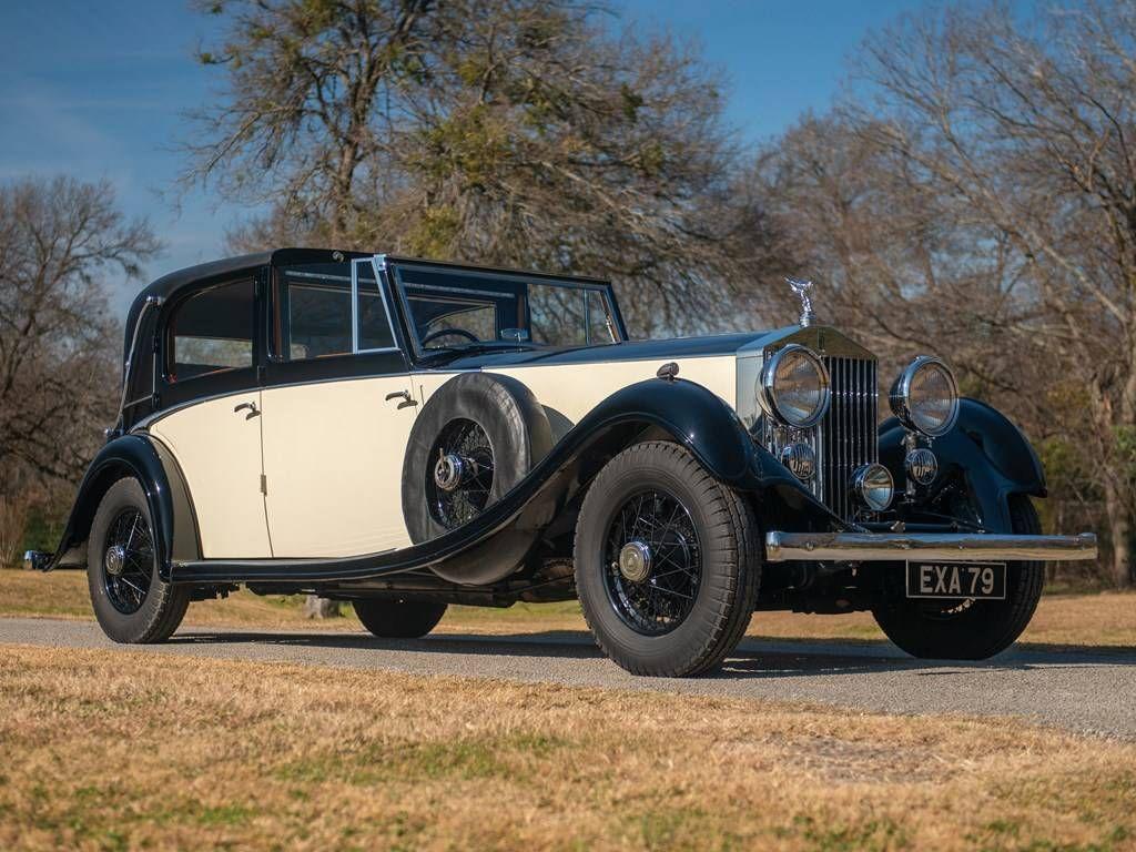 1933 Rolls Royce Phantom Ii At Auction 2216583 Hemmings Motor