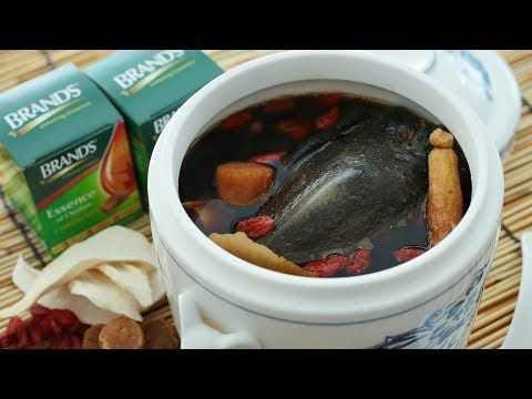 Double boiled black chicken soup the meatmen your food double boiled black chicken soup forumfinder Choice Image